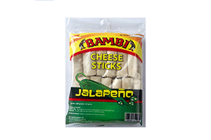 Bambi Cheese Sticks Jalapeno 24 pcs