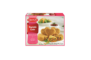 Bikaji Vegetable Cutlet 6 pcs
