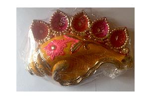 5 Faces Decorative Diya Set (1)