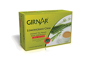 Girnar Lemongrass Chai 10 Sachets