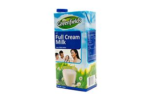 Greenfields Full Cream Milk 1 Litre