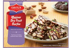 Bikaji Khajoor Dry Fruit Burfi 250 gm
