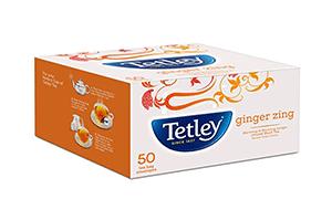 Tetley Ginger Zing 50 Bags