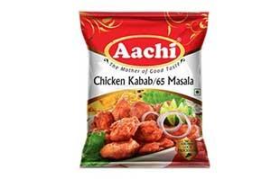 Aachi Chicken Kabab 65 Masala 50 gm