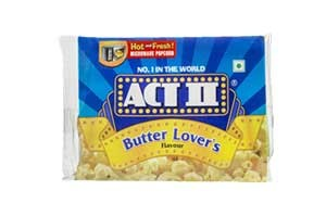 Act II Popcorn Butter Lovers 70 gm