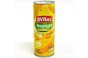 BVitas Mango Juice Can 250 ml