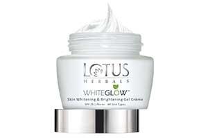 Lotus White Glow Skin Brightening Gel Cream 40 gm