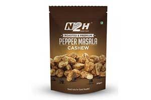 N2H Cashews Roasted (Pepper Masala) 200 gm