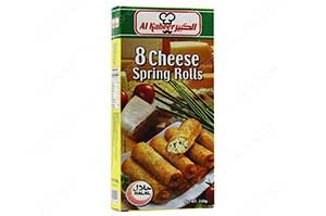 Al Kabeer Cheese Spring Rolls 240 gm