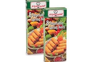 Al Kabeer Veg Spring Rolls Promo Pack 560 gm