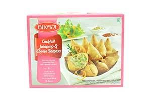 Bikaji Cocktail Jalapeno & Cheese Samosa 18 pcs