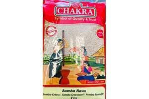 Chakra Samba Wheat Rava 1 Kg