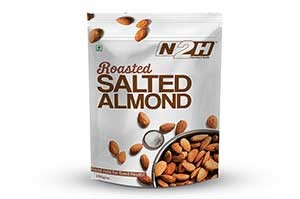 N2H Roasted Salted Almond 200gm