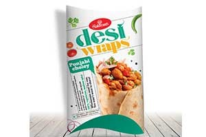 Haldiram Desi Wraps Punjabi Choley 156gm