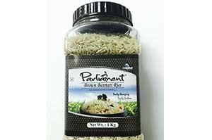 Parliament Brown Basmati Rice 1 Kg Jar