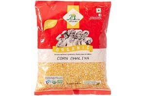 24 Mantra Organic Corn Dalia 500 gm