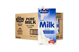Pauls Pure Milk 1L*12