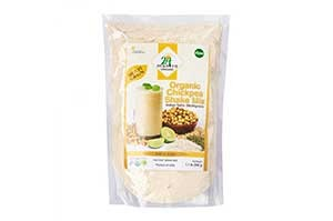 24 Mantra Organic Chickpea Shake Mix(Multigrain) 500 GM