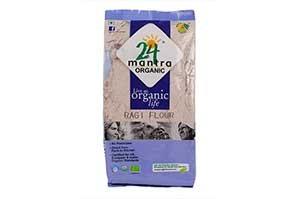 24 Mantra Organic Grain Ragi Flour 150 GM