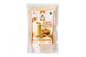 24 Mantra Organic Chickpea Shake Mix(Sweet) 500 GM