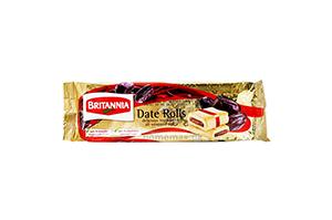 Britannia Date Rolls 90 gm