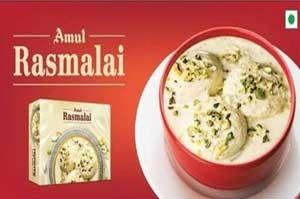 Amul Rasmalai 500 gm 6 Pcs