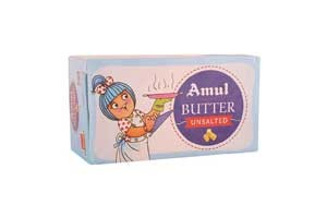 Amul Unsalted Butter 500 gm