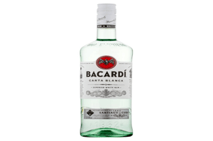Bacardi Carta Blanca White Rum 1L