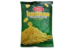 Bikaji Banana Salted Yellow Chips 90 gm