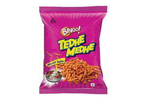 Bingo Tedhe Medhe 135 gm