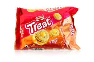Britannia Treat Orange Creams 100GM