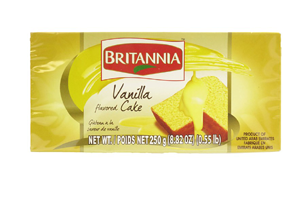 Britannia Vanilla Cake 250 gm