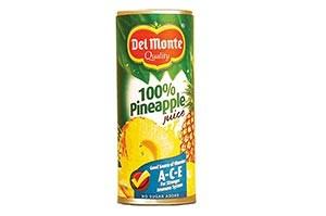 Del Monte 100% Pineapple Juice 240 ML