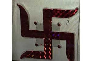 Swastika Sticker (3)
