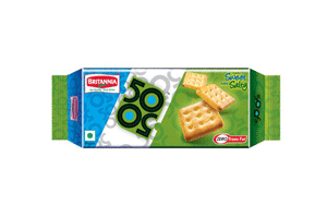 Britannia 50 50 Biscuits 200 gm