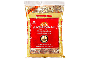 Aashirvaad Whole Wheat Flour 1KG
