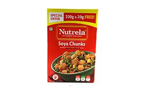 Nutrela Soya Chunks 220GM