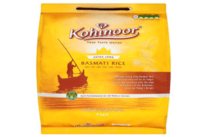 Kohinoor Extra Flavour Basmati Rice 5 Kg