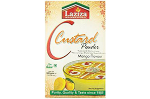 Laziza Custard Powder Mango Flavour 300 GM