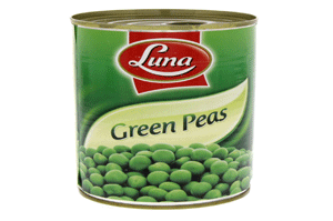 Luna Green Peas 400GM