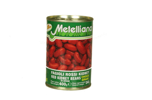 Metelliana Red Kidney Beans In Brine 400GM