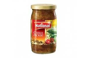 National Chilli Pickle In Oil 310GM