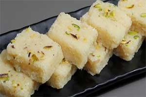 Coconut Burfi 2 Pieces