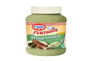 Funfoods Veg Mayonnaise Green Mint 275 Gm
