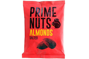 Prime Almonds Salted 200 gm