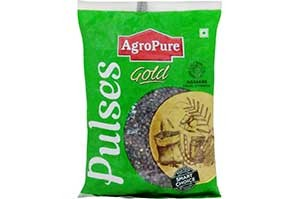 AgroPure Urad Whole Dal 1 Kg