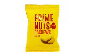 Prime Cashew Nuts Salted 200 gm