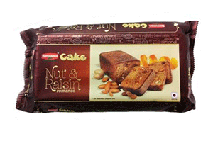 Britannia Cake Nut & Raisin 150 gm