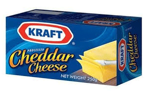 Kraft Cheddar Cheese 250 GM