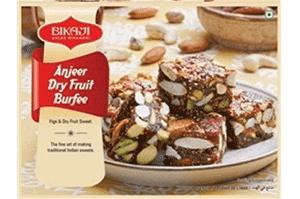 Bikaji Anjeer Dry Fruit Burfi 250 gm